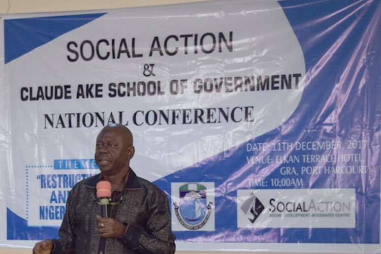 Restructuring-Social-Action-and-Claude-Ake-School-of-Government-Hold-Conference