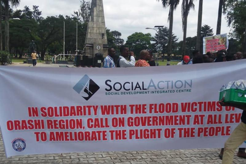 Flood Victims Rally for Government Attention