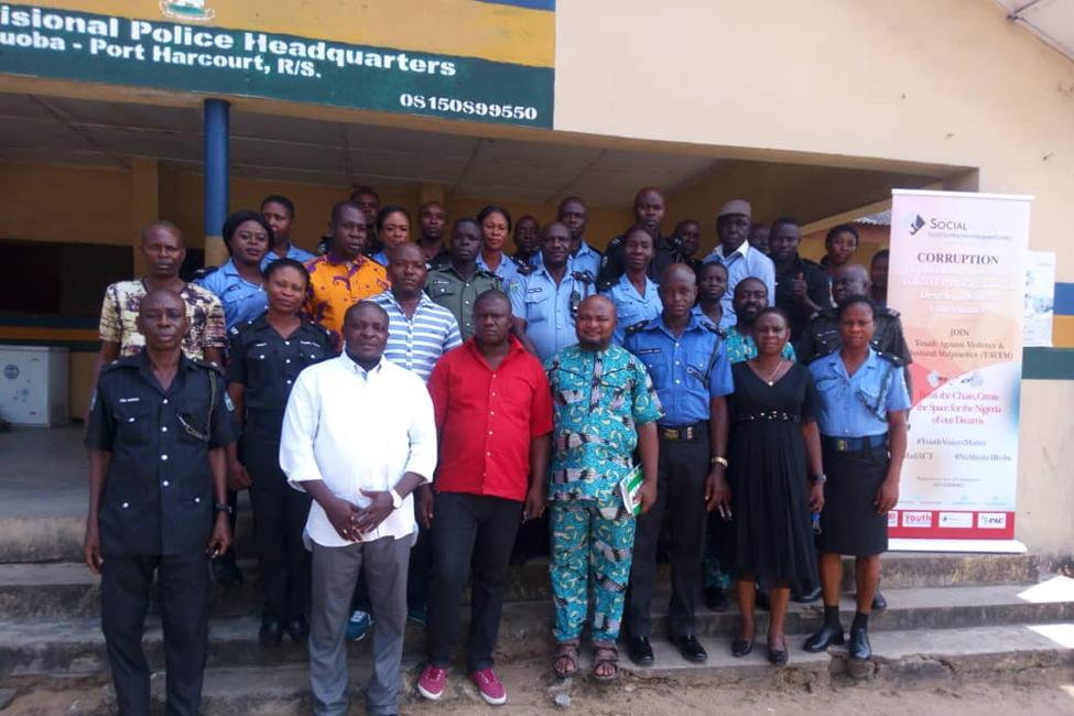 Social Action Supported Civil Rights Councils Train Nigerian Police On Human Rights