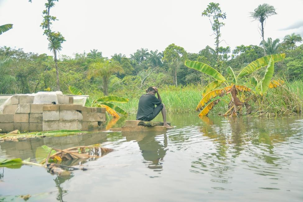 Victims bemoan the loss of livelihoods at floods destroy crops