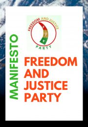 FREEDOM AND JUSTICE PARTY