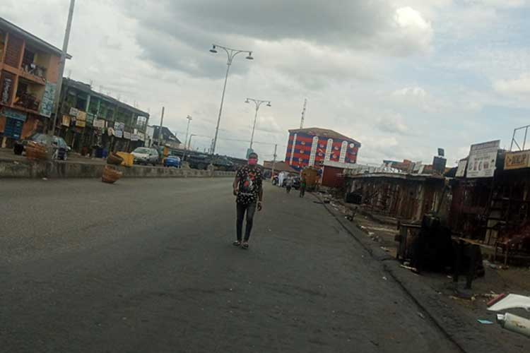 The-streets-of-Port-Harcourt-under-lockdown