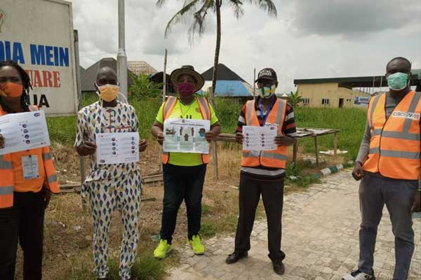 Pictures-show-CSO-Situation-Room-members-on-a-mission-to-distribute-IEC-materials-in-communities-within--Bayelsa