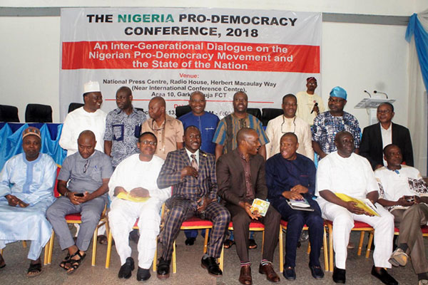 Panellists-and-participants-at-the-Nigerian-Pro-Democracy-Conference,-2018